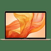 APPLE MVH52D/A Macbook Air, Notebook mit 13,3 Zoll Display, Core i5 Prozessor, 8 GB RAM, 512 GB SSD, Intel Iris Plus Graphics, Gold