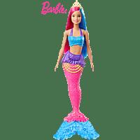BARBIE Dreamtopia Meerjungfrau Puppe (pinkes und blaues Haar) Puppe, Mehrfarbig