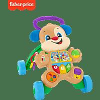 FISHER PRICE Lernspaß Hündchens Lauflernwagen Laufwagen, Mehrfarbig