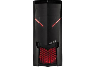 CAPTIVA R51-443, Gaming PC mit Ryzen 5 Prozessor, 16 GB RAM, 240 GB SSD, 1 TB HDD, GTX 1660Ti, 6 GB