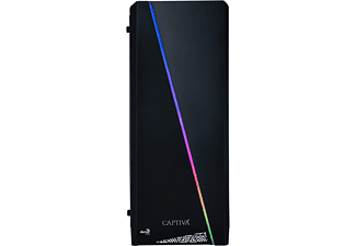 CAPTIVA R50-672, Gaming PC mit Ryzen 5 Prozessor, 16 GB RAM, 240 GB SSD, 1 TB HDD, Radeon RX 5700, 8 GB