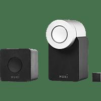 NUKI 220519 COMBO 2.0 Smart Lock, Schwarz/Silber