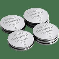 INTENSO CR 2025 Lithium Knopfzelle (frei von Quecksilber, Cadmium & Blei) Knopfzellen, Lithium / Manganese Dioxide (Li/MnO2), 3 Volt, 160 mAh 10 Stück