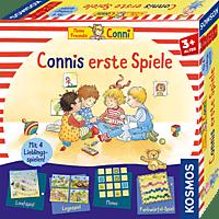 KOSMOS Connis erste Spiele Kinderspiel, Mehrfarbig