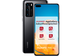 HUAWEI P40 128GB Black mit Android™ Open Source (ASO)