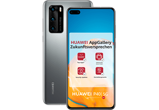 HUAWEI P40 128GB Silver Frost mit Android™ Open Source (ASO)