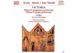 Oxford Camerata, Jeremy/oxford Camerata Summerly - Ave Maria/Messen/Versa Est  - (CD)
