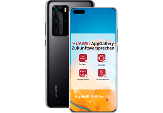 HUAWEI P40 Pro 256GB Black mit Android™ Open Source (ASO)