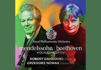 Robert Davidovici, Royal Philharmonic Orchestra - Violinkonzerte  - (CD)