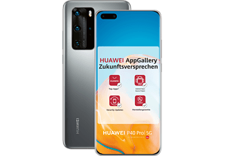 HUAWEI P40 Pro 256GB Silver Frost mit Android™ Open Source (ASO)