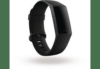 FITBIT Charge 4 NFC, Fitnesstracker, S, L, Black