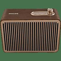 PHILIPS TAVS500/00 Bluetooth Lautsprecher, Braun