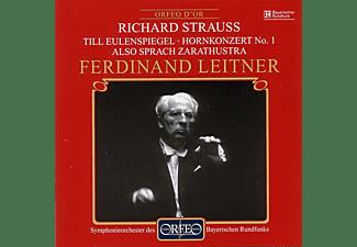 Jack Meredith, Symphonieorchester Des Bayerischen Rundfunks - Till Eulenspiegel / Hornkonzert No. 1 / Zarathustra  - (CD)