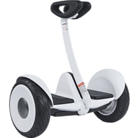 SEGWAY Ninebot S White Self Balancing Scooter (10 Zoll, Weiß)