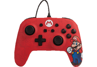 POWER A Super Mario Wired Controller Controller} Rot
