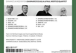 Scaglia, Gianmarco & Wertico, Paul Quartet - DYNAMICS IN MEDITATION  - (CD)
