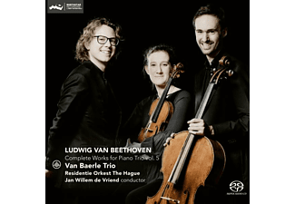 Van Baerle Trio - COMPLETE WORKS FOR PIANO TRIO 5  - (SACD Hybrid)