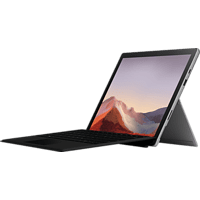 MICROSOFT Surface Pro 7, Convertible mit 12,3 Zoll Display, Core™ i7 Prozessor, 16 GB RAM, 1 TB SSD, Intel® Iris™ Plus Grafik, Platinum