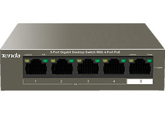 TENDA TEG1105P-4-63W - 5 Port Gigabit  PoE-Switch
