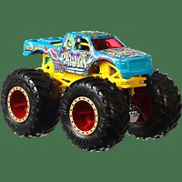 HOT WHEELS Monster Trucks 1:64 Die-Cast 2er-Pack Sortiment Spielzeugfahrzeugset, Farbauswahl nicht möglich