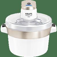 KRUPS GVS241 Perfect Mix 9000 Eismaschine (6 Watt, Chrom/Weiß)