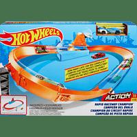 HOT WHEELS Championship Trackset Sortiment Spielzeugrennbahnset, Farbauswahl nicht möglich