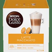 DOLCE GUSTO Latte Macchiato 16 Kapseln/8 Getränke