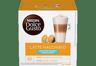 DOLCE GUSTO Latte Macchiato Ungesüsst 16 Kapseln/8 Getränke