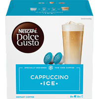 DOLCE GUSTO Cappuccino Ice (16 Kapseln = 8 Getränke)