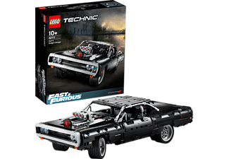 LEGO 42111 Dom's Dodge Charger Bausatz, Mehrfarbig