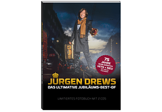Jürgen Drews - DIE ULTIMATIVE JUBILÄUMS-BEST-OF (LTD.FOTOBUCH)  - (CD)