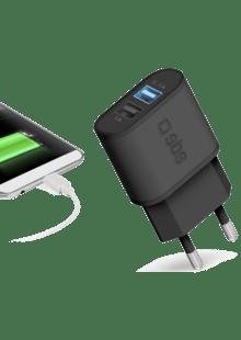 USB laddare, 6 portar Flera vägg USB laddare Smart Adapter Mobil Laddning För iPhone iPad US EU UK Plug Tillgänglig