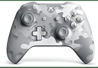 Mando - Microsoft, Inalámbrico, Xbox One Controller Artic Camo Special Edition, Gris