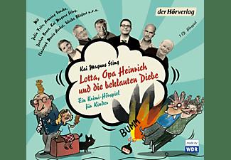 - Lotta, Opa Heinrich und die beklauten Diebe  - (CD)