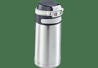 LEIFHEIT 3244 Isolierbecher Flip Thermobecher Silber