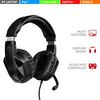 TRUST Trust Gaming GXT 412 Celaz Gaming-Headset Schwarz