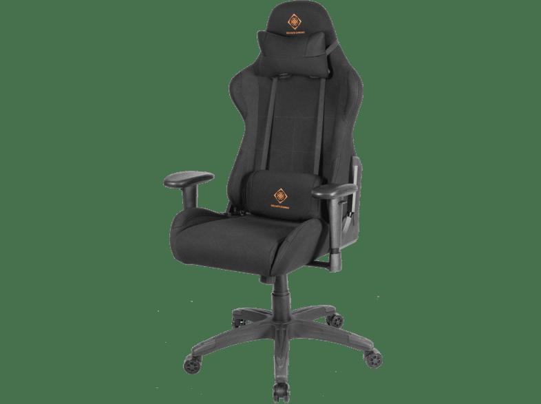 DELTACO GAMING gaming stol i nylon, nackkudde, ryggkudde