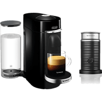 DELONGHI Nespresso®  ENV 155.B VERTUO AEROCCINO 3  BUNDLE Kapselmaschine Schwarz