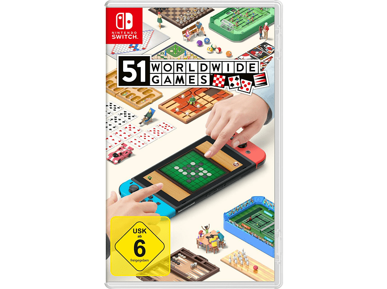 NINTENDO OF EUROPE PL NINTENDO OF EUROPE PL 51 Worldwide Games Nintendo Switch