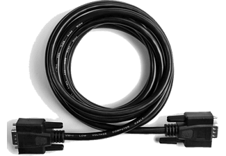 EKON VGA (15 pin) monitor cable 3M - Svart
