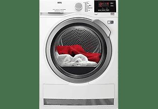 Secadora - AEG T8DBG862 Bomba de calor, Capacidad 8kg, Motor Inverter, Display LCD, Secado Suave, Blanco