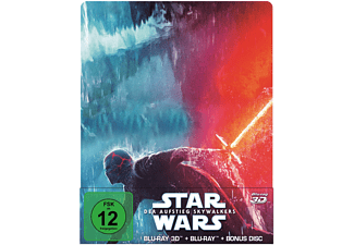 Star Wars: Der Aufstieg Skywalkers (2D & 3D Steelbook Edition) - (3D Blu-ray (+2D))