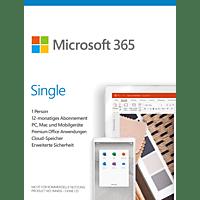 Microsoft 365 Single (1 User, 1 Jahr)  - [PC/MAC]