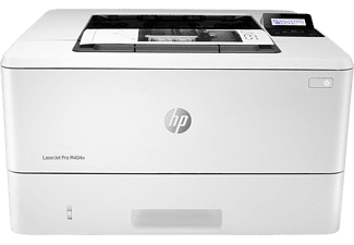 Impresora láser - HP LaserJet Pro M404n, 1200 x 1200 ppp, 38ppm, A4, Blanco