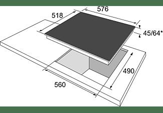 OK. OBH 26324 Elektrokochfeld (575 mm breit, 4 Kochfelder)