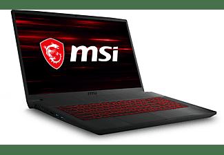 MSI GF75 10SCSR-075 Thin, Gaming Notebook mit 17,3 Zoll Display, Intel® Core™ i7 Prozessor, 16 GB RAM, 512 GB SSD, GeForce® GTX 1650 Ti, Schwarz
