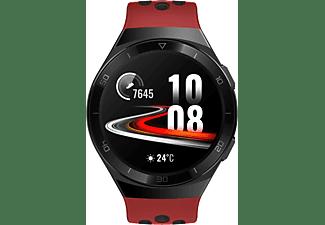 HUAWEI Huawei Watch GT 2e (Hector B19R) Smartwatch Metall, Kunststoff Fluorelastomer/Thermoplastisches Polyurethan, 140-210 mm, Lava Red