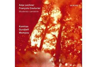 Anja Lechner, Francois Couturier - Moderato Cantabile (CD)