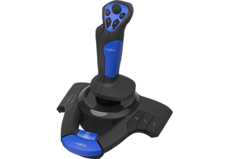 URAGE Joystick Airborne 300, USB, blau/schwarz (00186043)