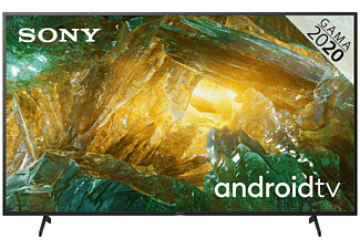 "TV LED 75"" - Sony KD-75XH8096, UHD 4K, HDR, X1, SmartTV (AndroidTV), Asistente de Google, Triluminos, Negro"